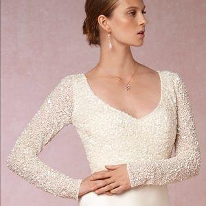 Theia Bridal Eden Top, size xs